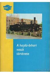 A hajdú-bihari vasút története - Dobos Péter - Régikönyvek