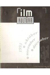 Film Kultúra 1993. október-november-december - Urbán Mária - Régikönyvek