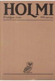Holmi 1994. március 3. szám - Réz Pál - Régikönyvek