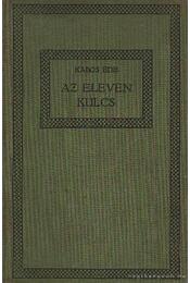 Az eleven kulcs - Kabos Ede - Régikönyvek