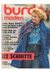 Burda (német) 1985. szeptember 9. - Régikönyvek