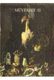 Művészet 1989/8 - Rideg Gábor - Régikönyvek