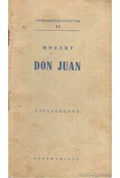Don Juan - Mozart, Wolfgang Amadeus - Régikönyvek