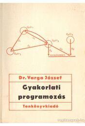 Gyakorlati programozás - Dr. Varga József - Régikönyvek