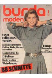 Burda Moden 1987/1 - Régikönyvek