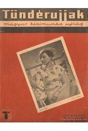 Tündérujjak 1937. augusztus - Régikönyvek