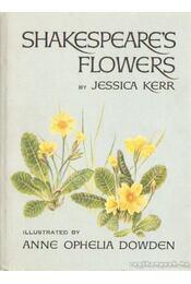 Shakespeare's flowers - Kerr, Jessica - Régikönyvek