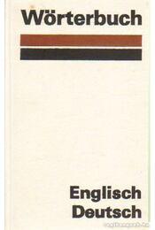 Wörterbuch - Englisch-Deutsch - Több szerző - Régikönyvek