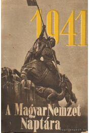 A Magyar Nemzet Naptára 1941. - Szabó Zoltán - Régikönyvek