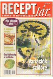 Recepttár 2000/9 - Wanatka Gabriella - Régikönyvek