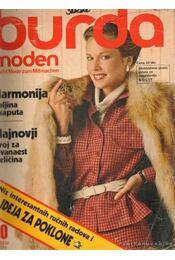 Burda Moden Oktober 1979 (német nyelvű) - Régikönyvek