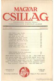 Magyar Csillag 1944. március 5. szám - Illyés Gyula - Régikönyvek