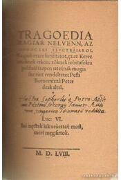 Tragoedia - Régikönyvek