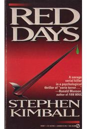 Red Days - Kimball, Stephen - Régikönyvek