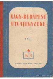 Nagy-Budapest utcajegyzéke - Király Elemér - Régikönyvek