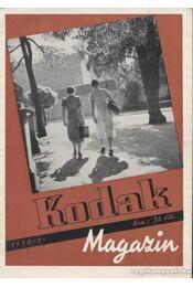 Kodak magazin 1938. 1. szám - Régikönyvek