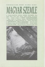 Magyar Szemle 2012. április - Kodolányi Gyula (szerk.) - Régikönyvek