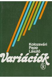 Variációk - Kolozsvári Papp László - Régikönyvek