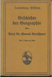 Geschichte der Geographie - Konrad Kretschmer - Régikönyvek