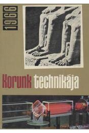 Korunk technikája 1966 - Várhelyi Tamás - Régikönyvek