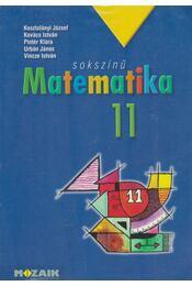 Sokszínű matematika 11 - Kosztolányi József, Kovács István, Pintér Klára, Urbán János, Vincze István - Régikönyvek
