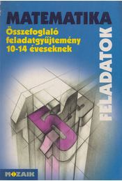 Matematika feladatok - Kosztolányi József, Mike János, Palánkainé Jakab Ágnes, Dr. Szederkényi Antalné, Vincze István - Régikönyvek