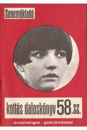 Kottás daloskönyv 58.sz. - Régikönyvek