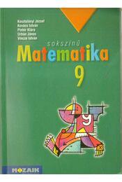 Sokszínű matematika 9. - Kovács István, Urbán János, Vincze István, Kosztolányi József, Pintér Klára - Régikönyvek
