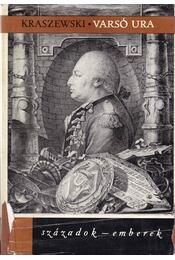 Varsó ura - Krasewszky I. Ignácz - Régikönyvek