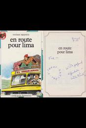 En Route Pour Lima (dedikált) - Kravetz, Nathan - Régikönyvek