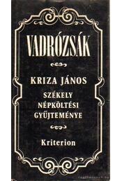 Vadrózsák - Kriza János - Régikönyvek