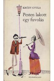 Pesten lakott egy fuvolás - Krúdy Gyula - Régikönyvek