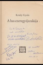 A has ezeregyéjszakája. (Illusztrálta Zórád Ernő.) (Dedikált.) - Krúdy Gyula, Zórád Ernő - Régikönyvek