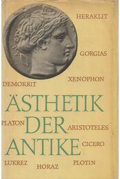 Ästhetik der Antike - Krueger, Joachim - Régikönyvek