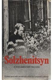 Solzhenitsyn: A Documentary Record - Labedz, Leopold (szerk.) - Régikönyvek