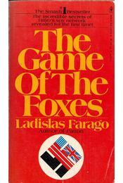 The Game of the Foxes - Ladislas Farago - Régikönyvek