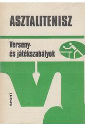 Asztalitenisz - Lakatos György - Régikönyvek