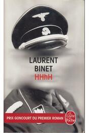 HHhH - Laurent Binet - Régikönyvek
