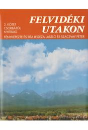 Felvidéki utakon 2. - Legeza László, Szacsvay Péter - Régikönyvek