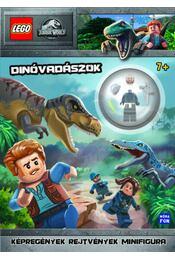 Lego Jurassic World - Dínóvadászok - Ajándék járőr minifigura! - Régikönyvek