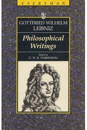 Philosophical Writings - Leibniz, Gottfried Wilhelm - Régikönyvek