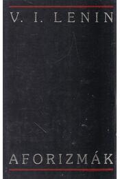 Aforizmák - Lenin, Vlagyimir Iljics - Régikönyvek