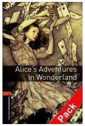Alice's Adventures in Wonderland Audio CD Pack - Stage 2 - Lewis Carroll - Régikönyvek