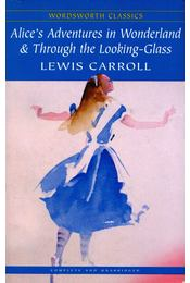 Alice's Adventures in Wonderland and Through the Looking Glass - Lewis Carroll - Régikönyvek