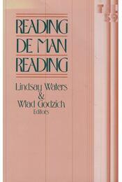 Reading de Man Reading - Lindsay Waters, Wlad Godzich - Régikönyvek