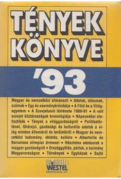 Tények könyve '93 - Lipovecz Iván, Baló György - Régikönyvek
