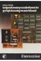 Teljesítményszabályozás gyújtásszögvezérléssel - Lóska Péter - Régikönyvek