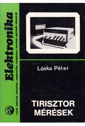 Tirisztor mérések - Lóska Péter - Régikönyvek