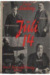 Juli 14 - Ludwig Emil - Régikönyvek