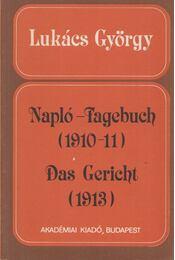 Napló - Fagebuch / Das Gericht - Lukács György - Régikönyvek